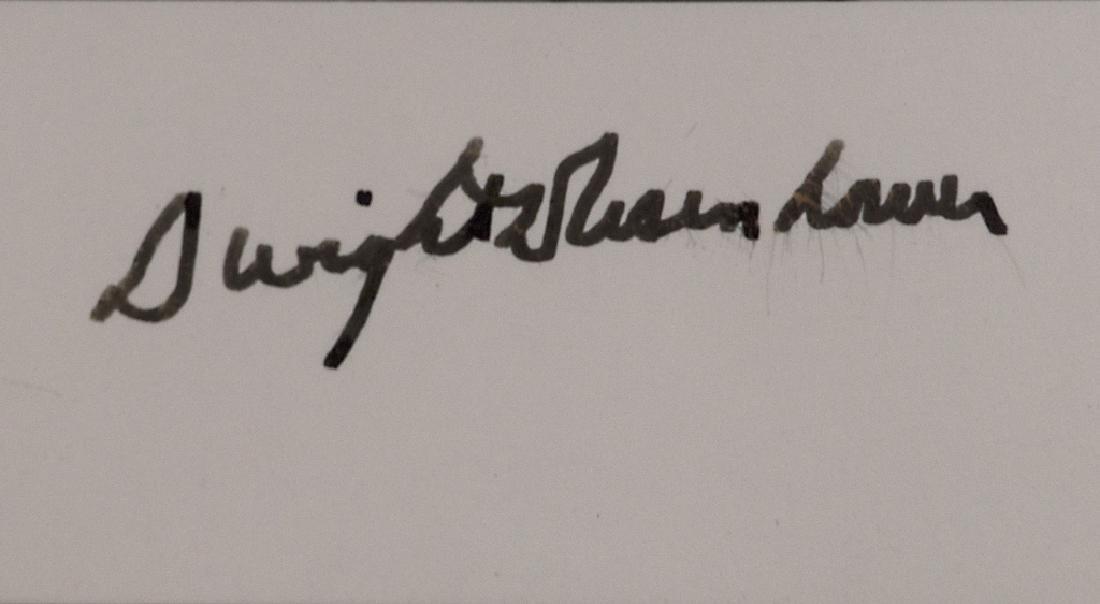 A Dwight D. Eisenhower autograph - 3