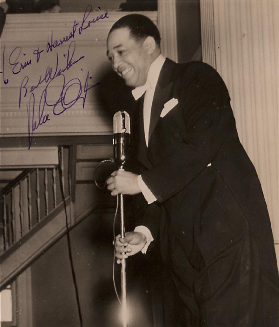 A Duke Ellington autograph