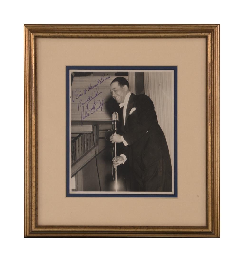 A Duke Ellington autograph - 2