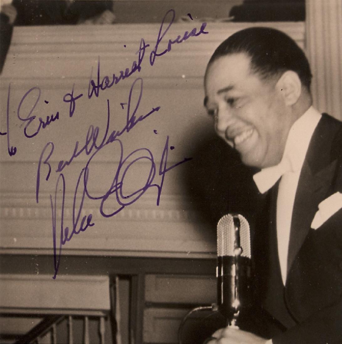 A Duke Ellington autograph - 3