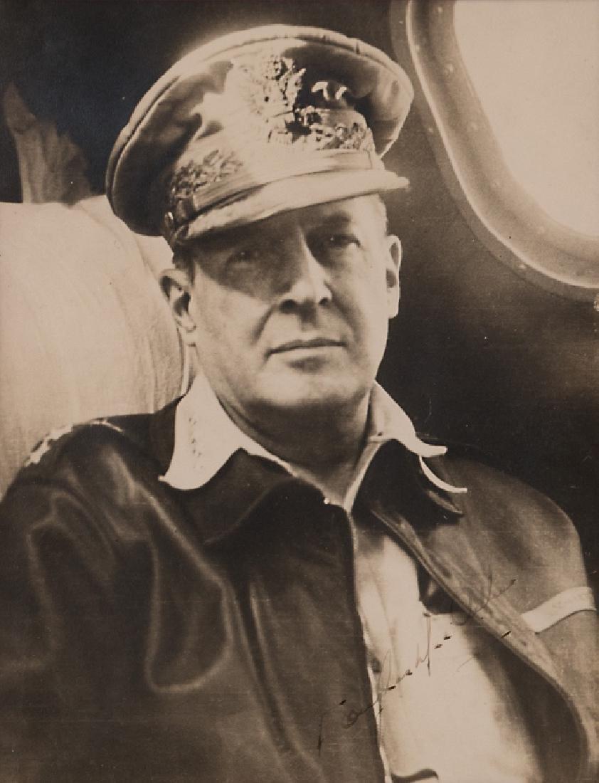 A Douglas MacArthur autograph