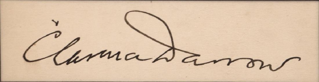 A Clarence Darrow autograph - 3