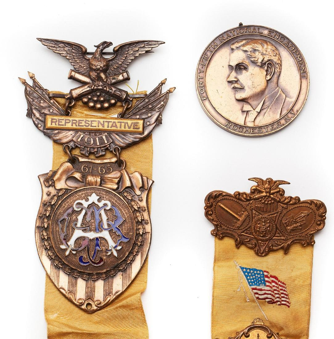 A group of military medals - 3