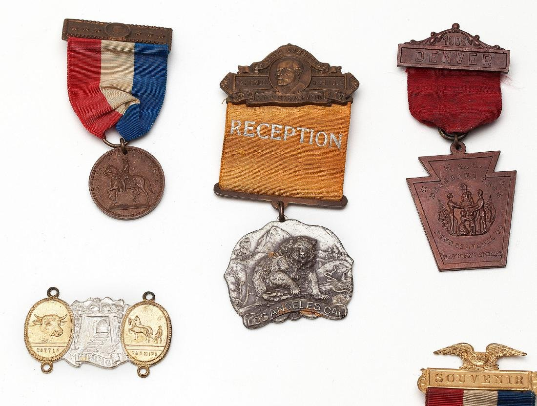 A group of military medals - 4