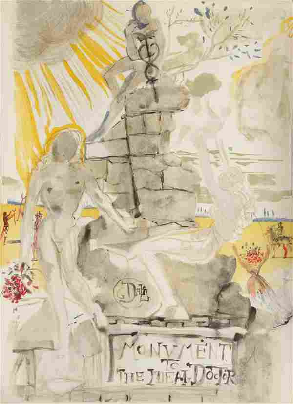 Attributed to Salvador Dalí (Spanish, 1904-1980)