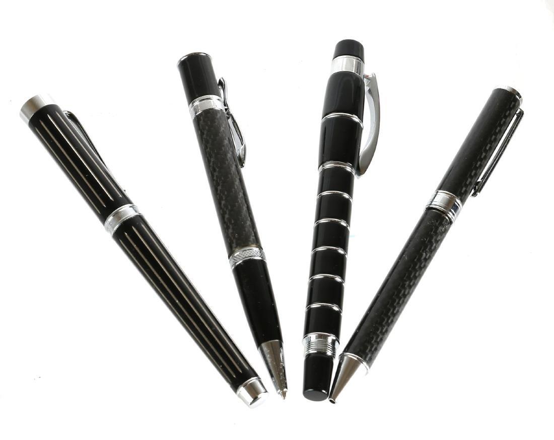 A lot of nine pens