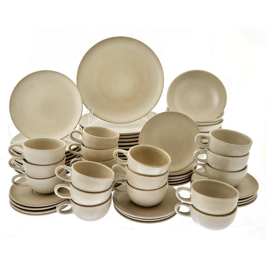 Heath Ceramics partial table service