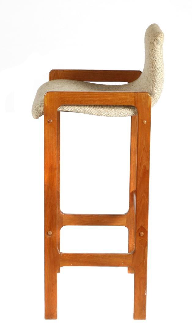 Set of 3 D-Scan Mid Century Modern style teak bar - 4