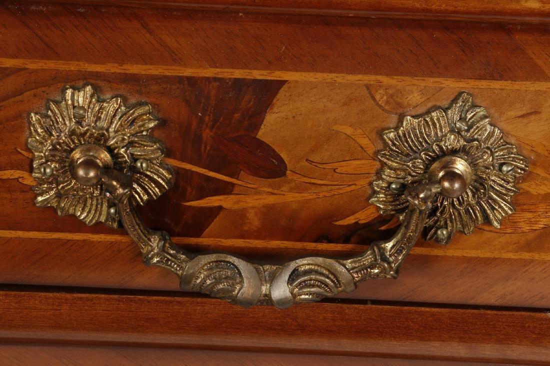 Dutch Baroque style marquetry desk - 4