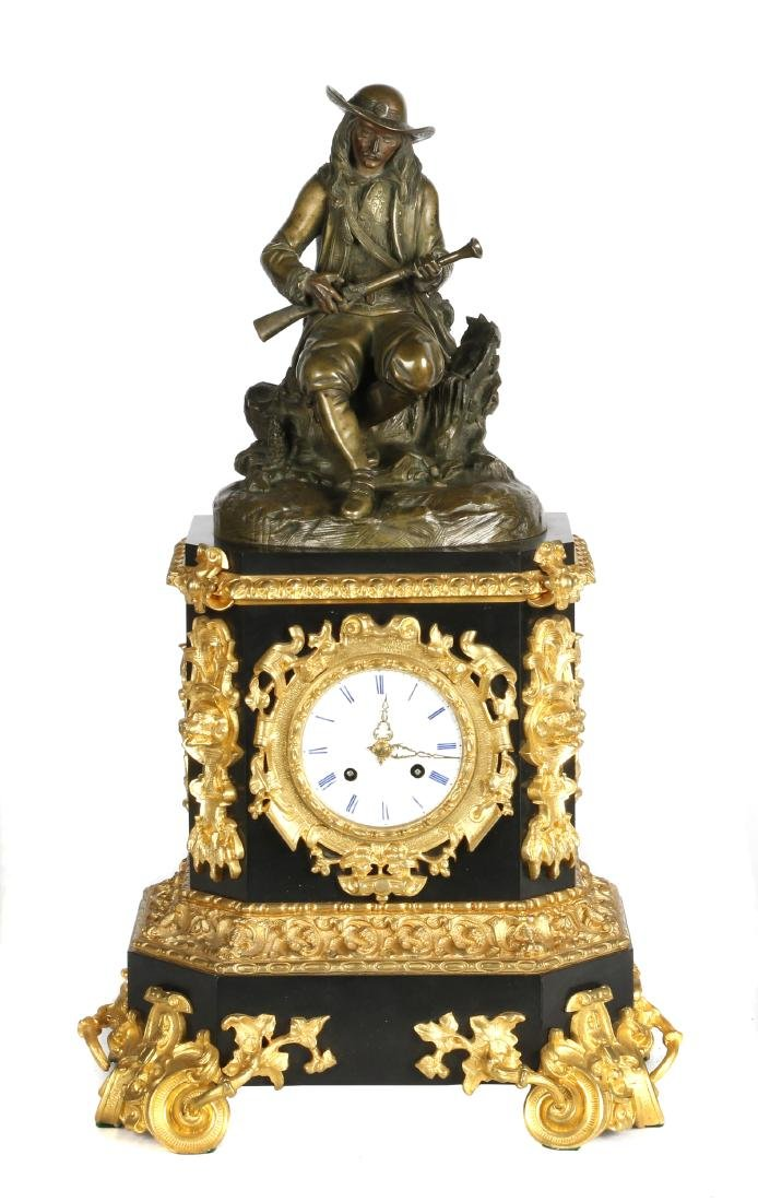 Assembled French style mantle clock