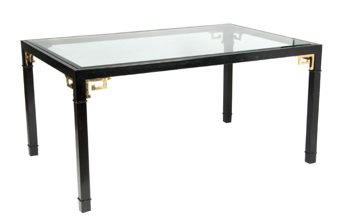 Mastercraft mid-century modern style dining table