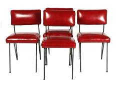 Set of 4 Dorothy Schindele mid century chairs