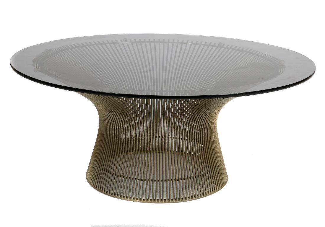 Warren Platner for Knoll coffee table