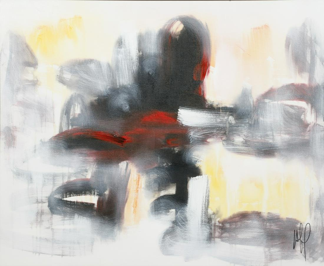 Alain Hechavarria Licea (Cuban) abstract painting