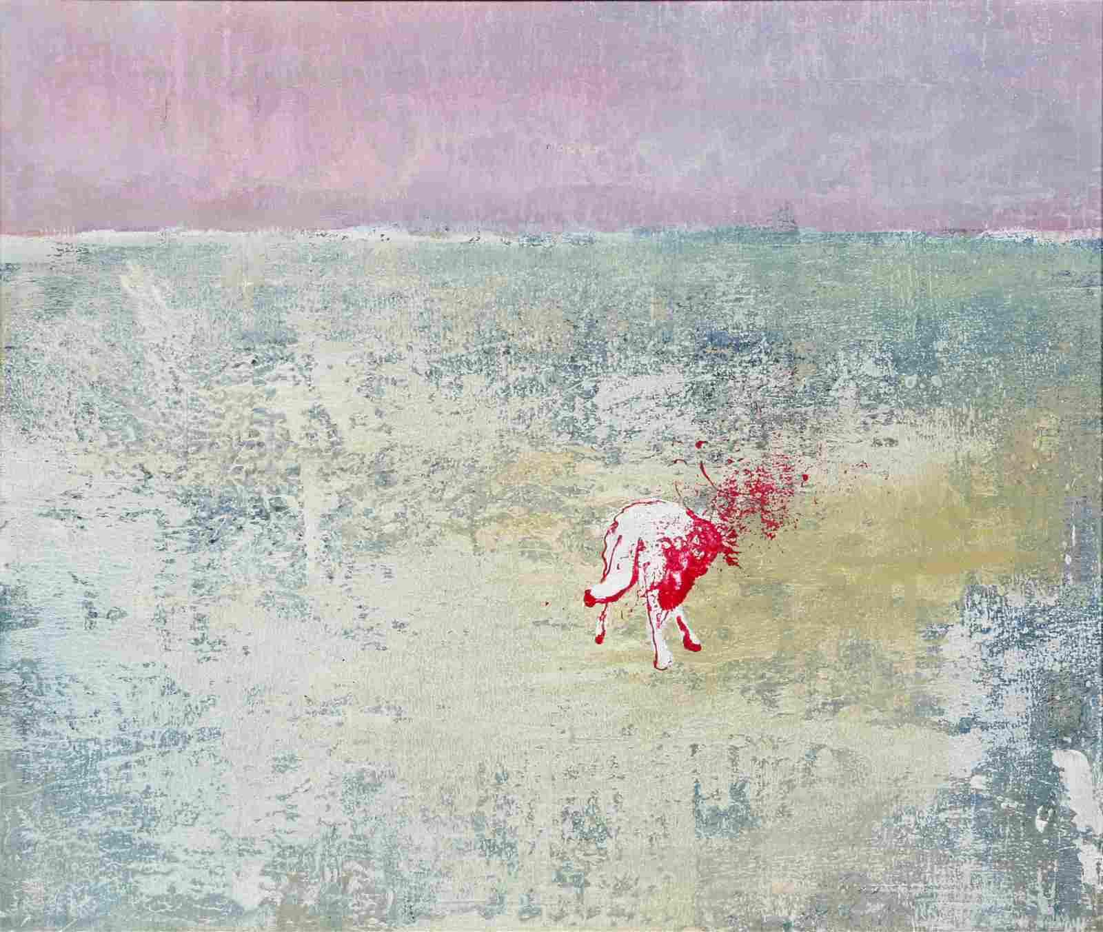 Victor Manuel Gomez Ibanez (Cuban b. 1987) mixed media