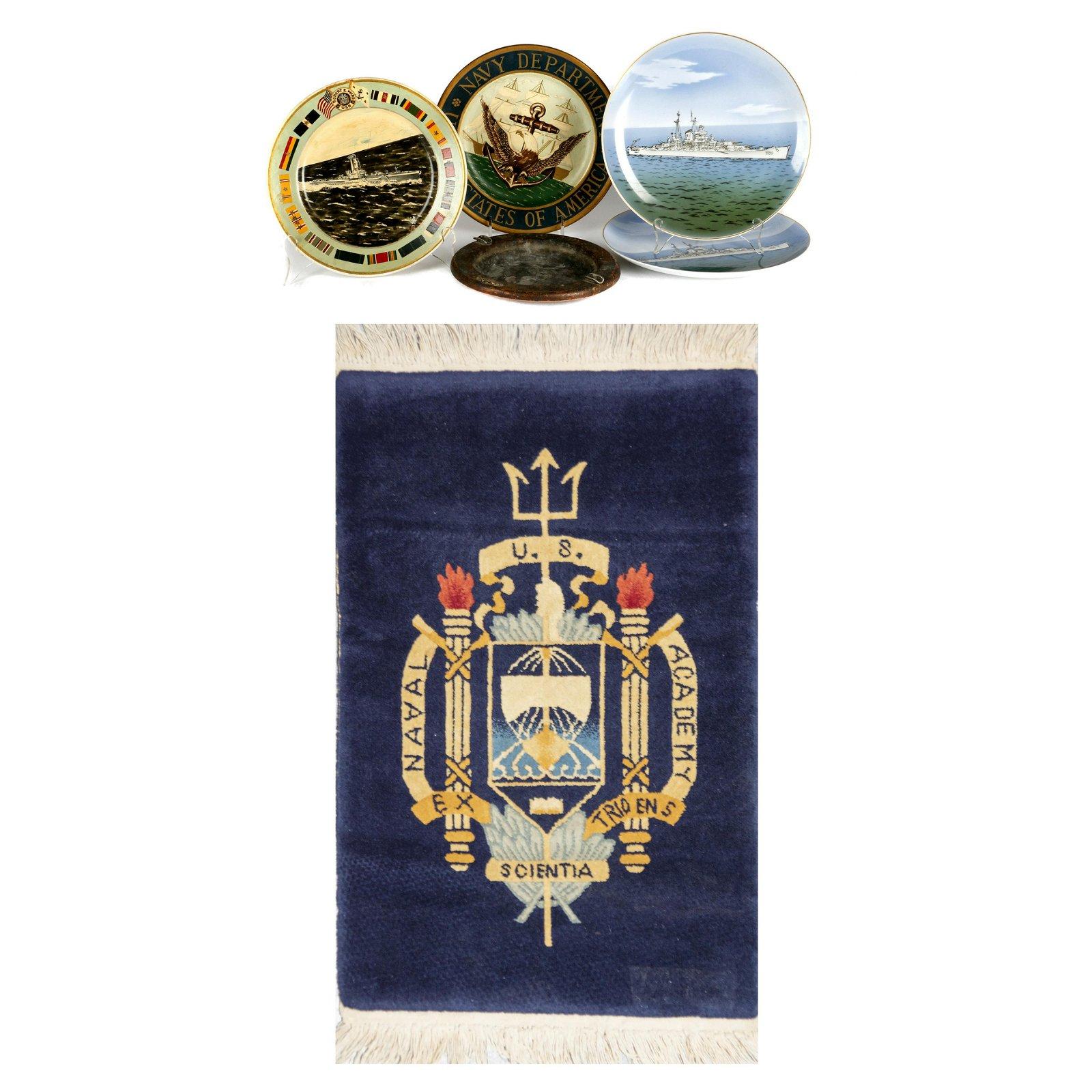 A Collection of U.S. Navy memorabilia