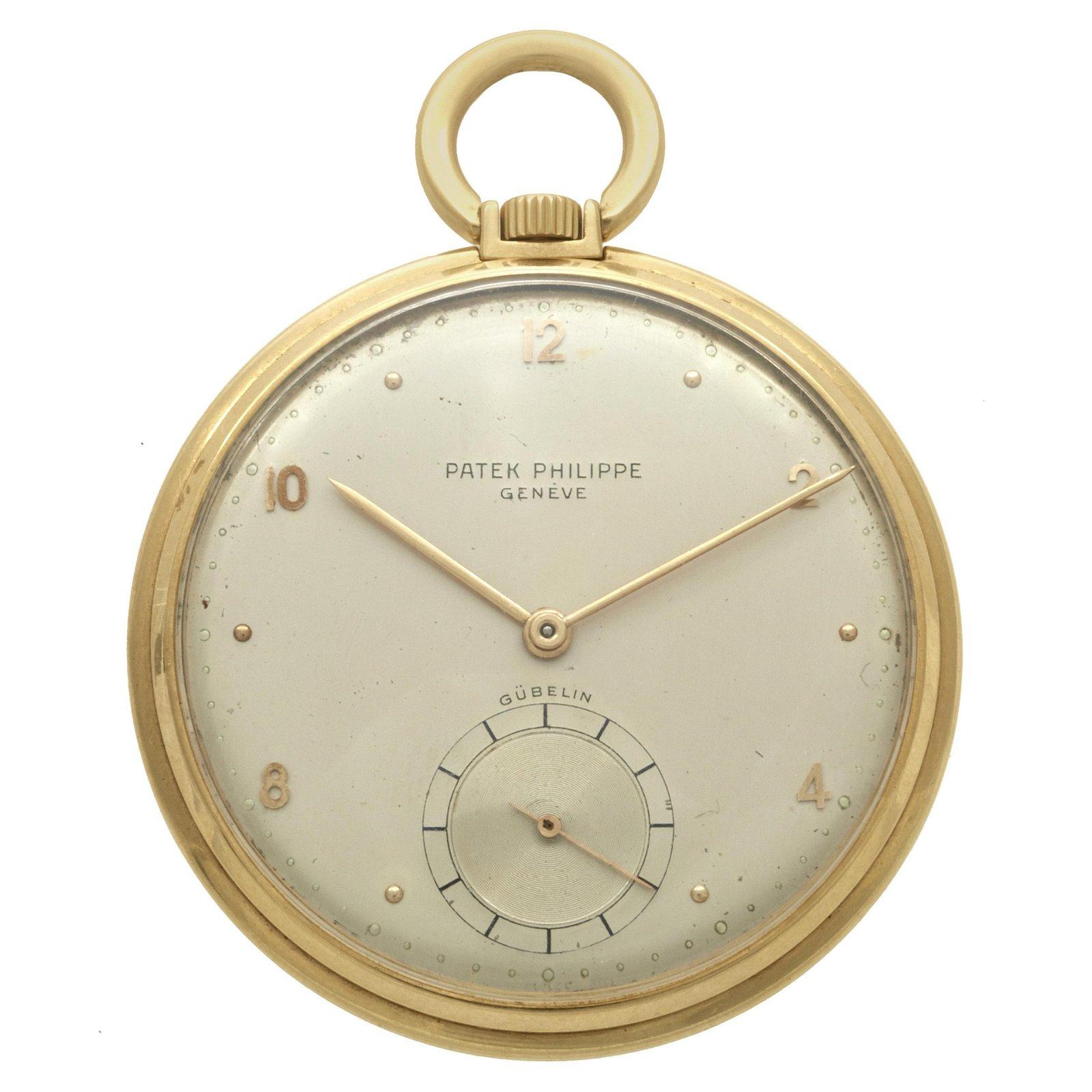 A Patek Phillipe 18k pocket watch