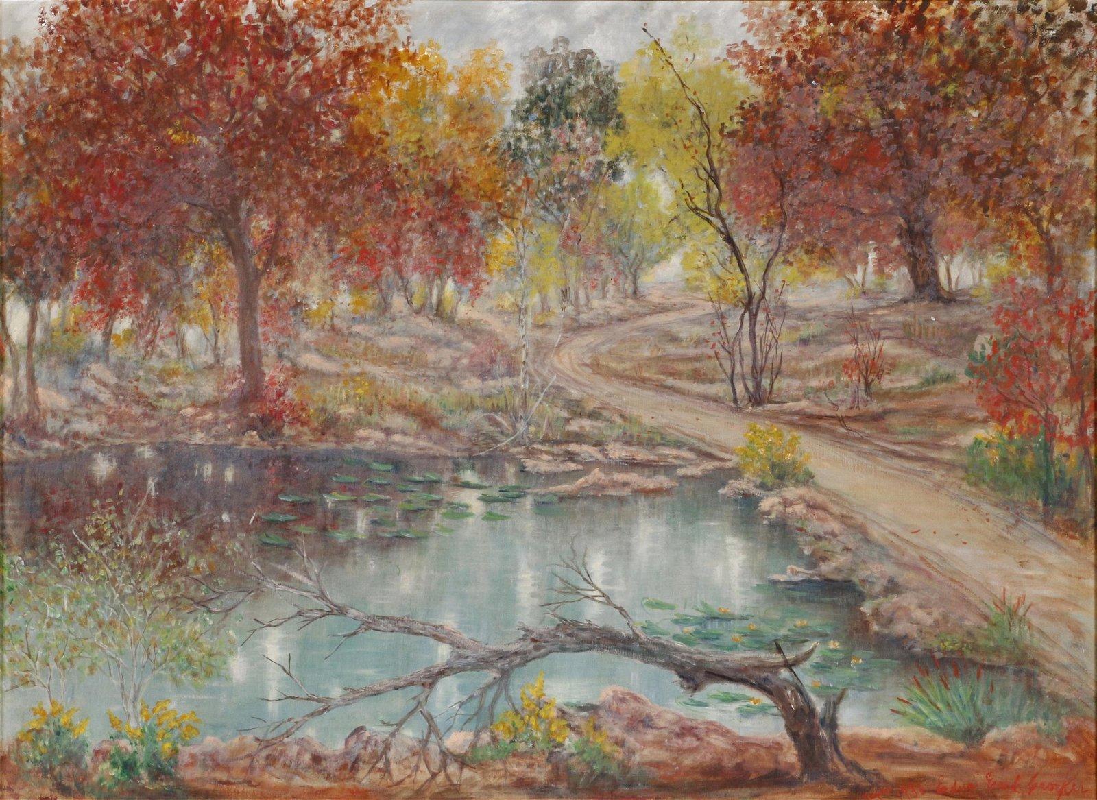 Edna Earl Crocker (1877-1942) Painting