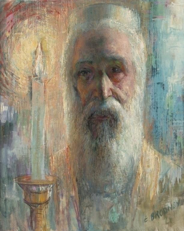 Edward Brodney (American, 1910-2002) Painting