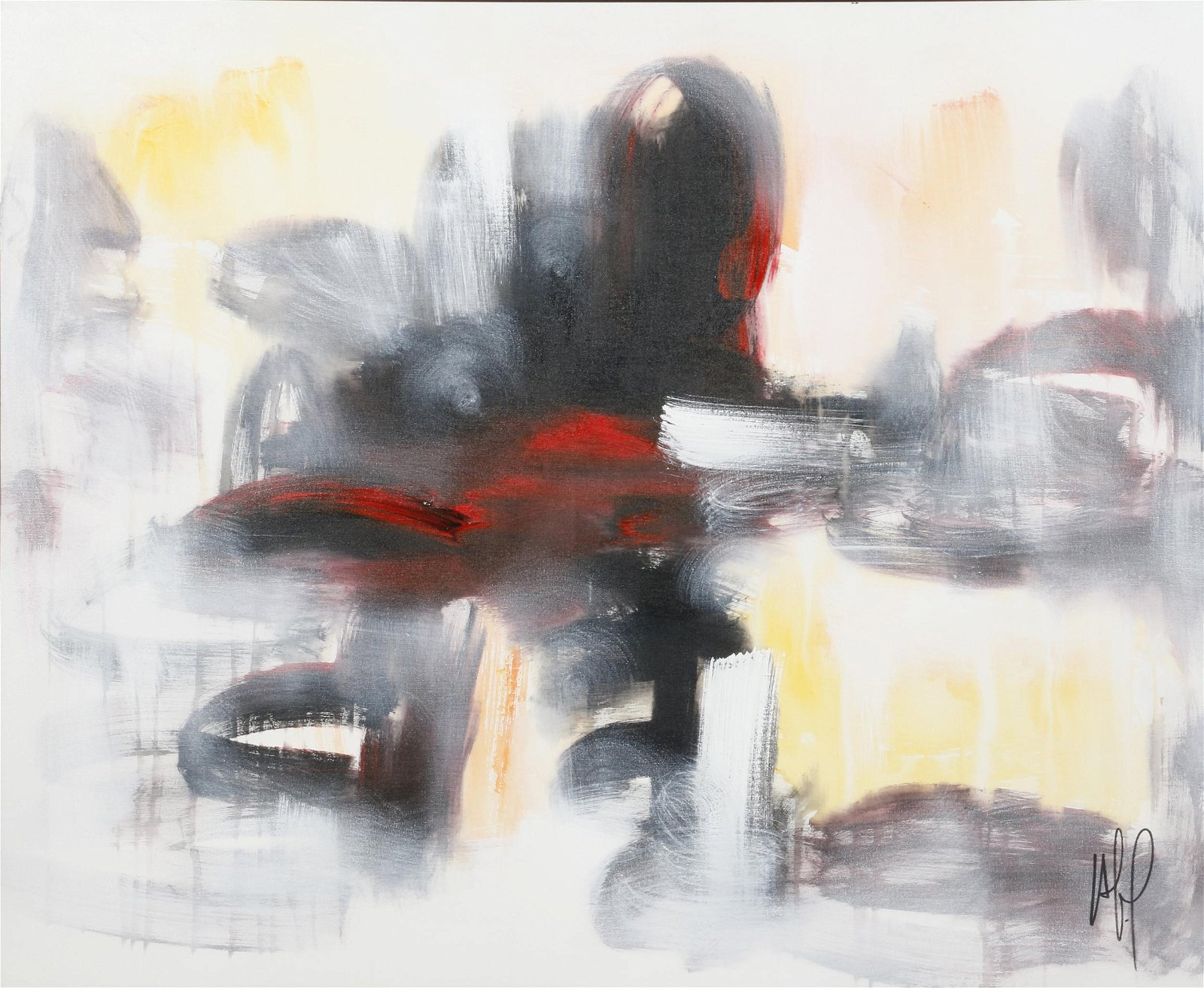 Alain Hechavarria Licea (Cuban b. 1980) abstract