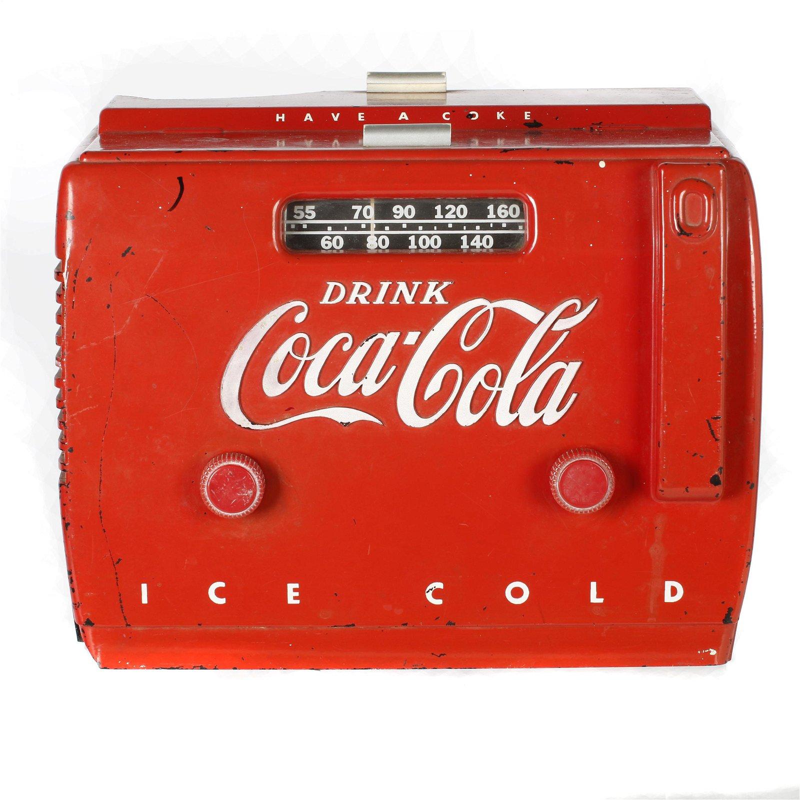 Coca-Cola Vintage AM/FM radio