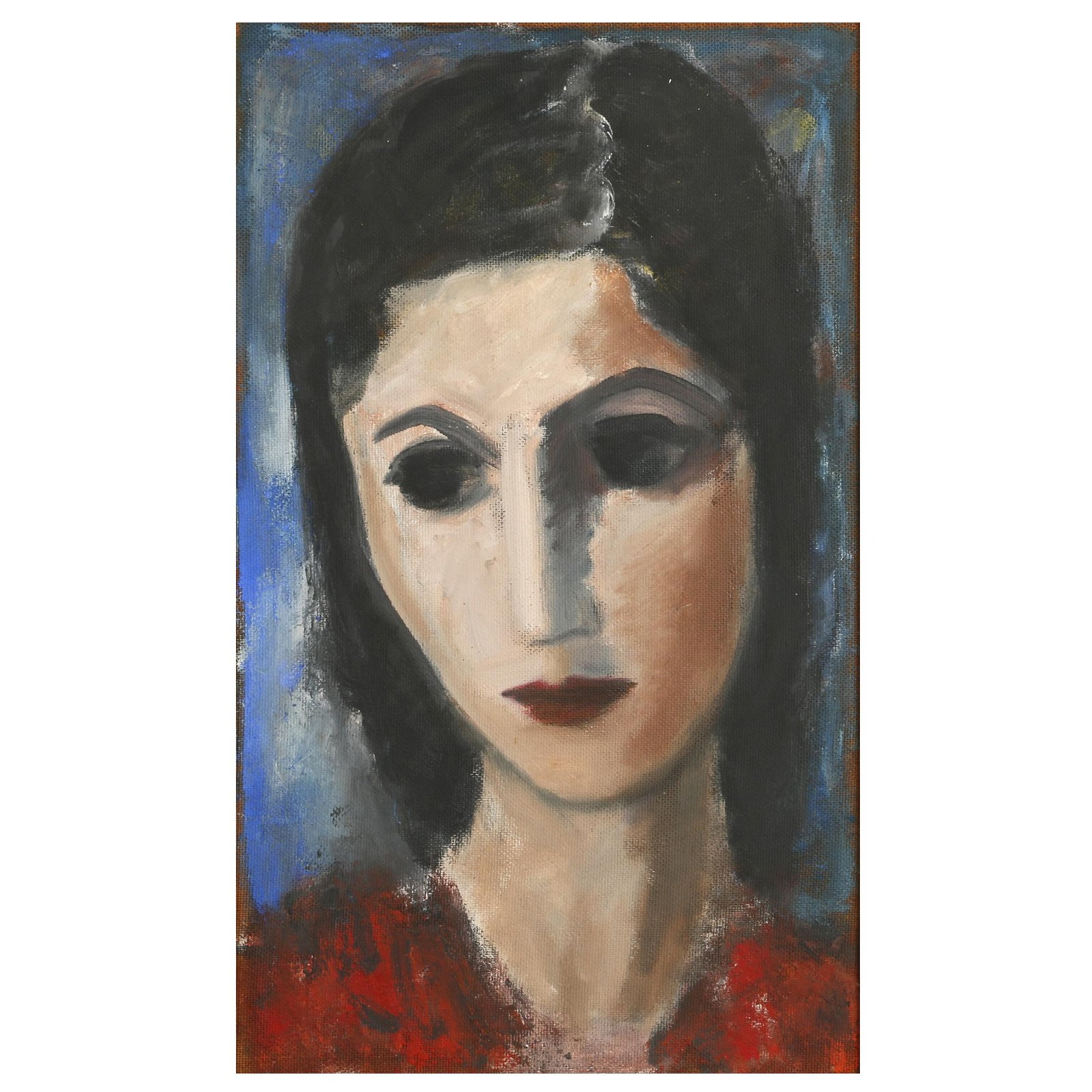 Boris Deutsch (Californian 1892-1978) Oil Painting