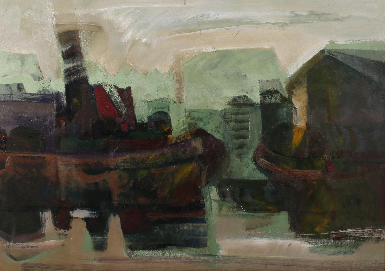 Felipe Persico (Argentinian b. 1932) Painting