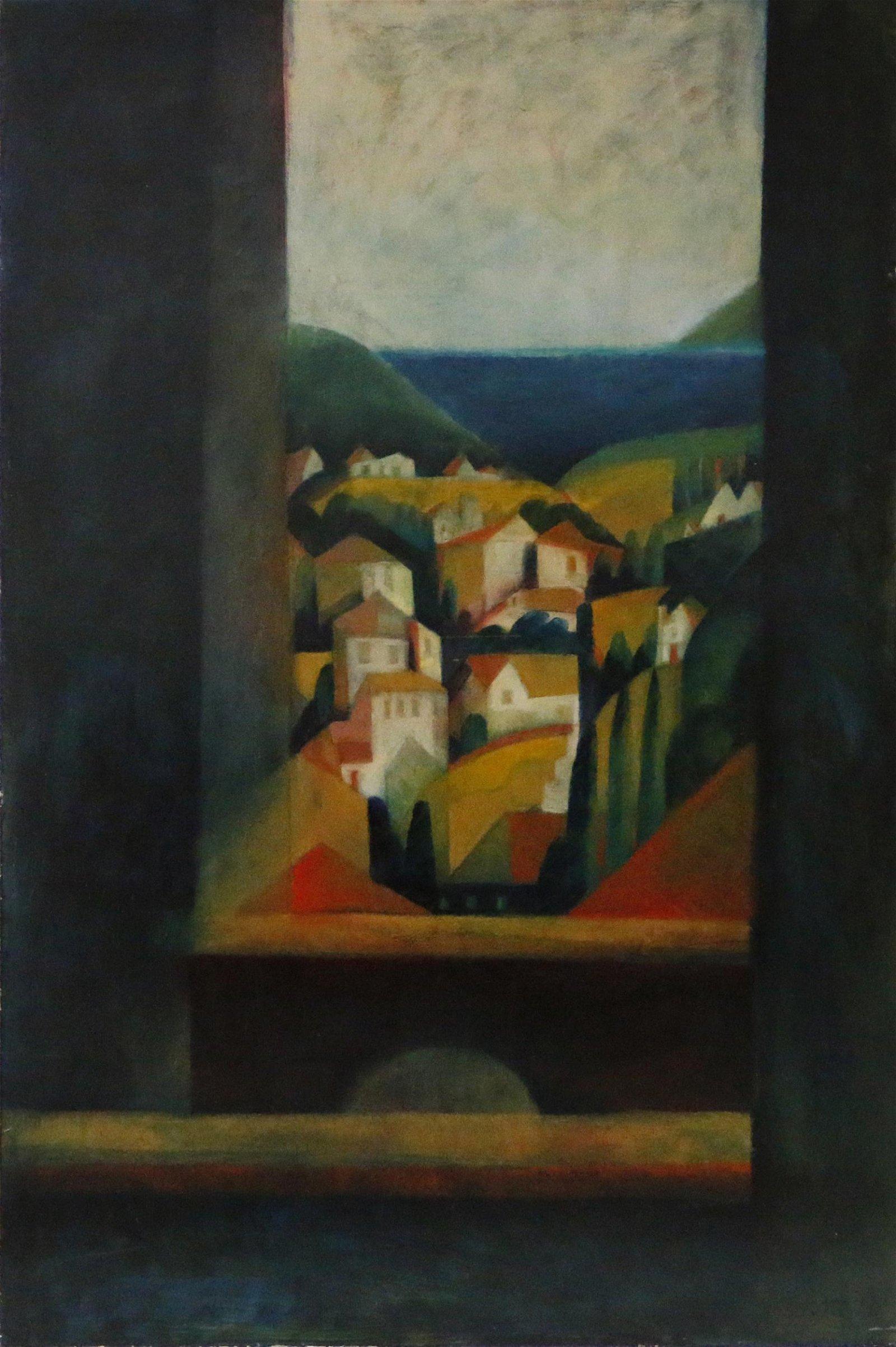 Kathleen Dunne (American, b.1933) Painting