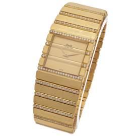 Piaget Polo, Diamond, 18k Wristwatch, Ref 7131 C701