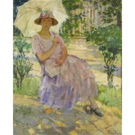 Pauline Lennards Palmer  (American, 1867 - 1938) Woman