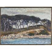 Clifford Warren Ashley, Trees Along the Coast, 1915