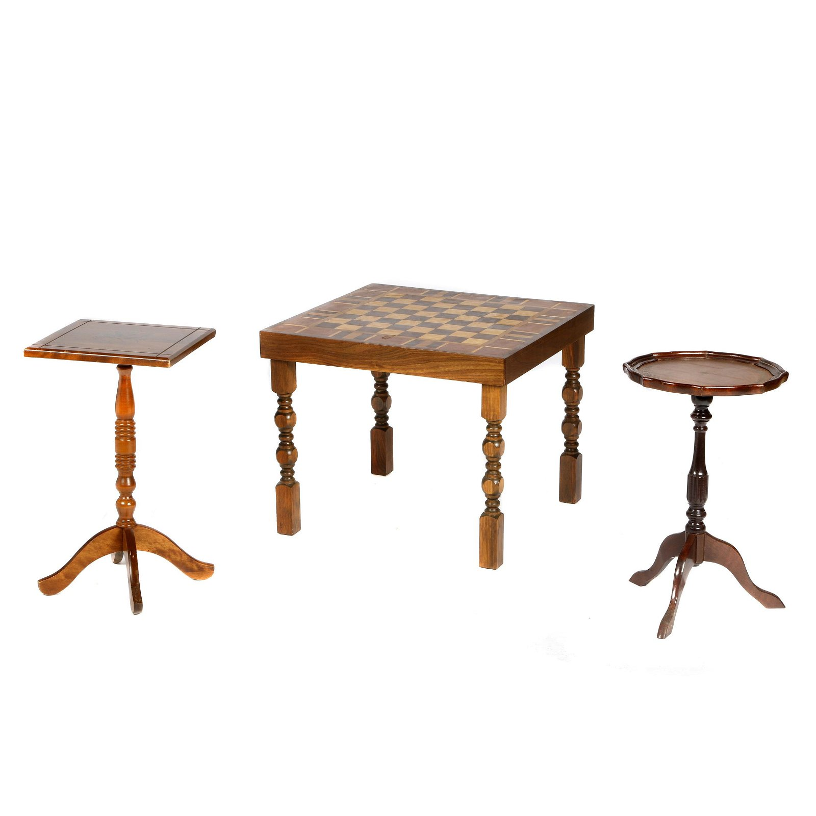 Collection of Three Tables