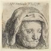 Rembrandt van Rijn, The Artist's Mother