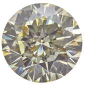 Unmounted Round BrilliantCut Diamond