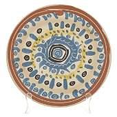 Pablo Picasso Motif Spirale Ceramic