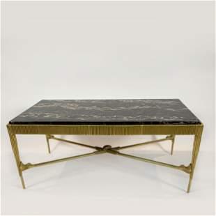 Art Deco Gilt Bronze Coffee Table