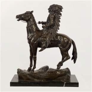 Carl Kauba (1865-1922 Austrian) Bronze