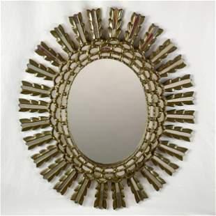 Venetian Rococo Style Giltwood Mirror