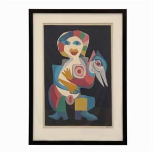 Karel Appel (1921-2006 Dutch) Lithograph