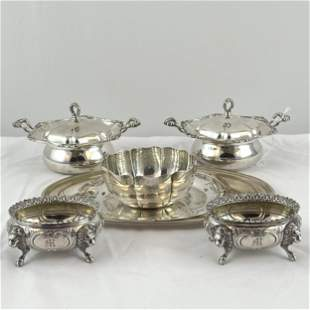 A Sterling Collection of Table Articles