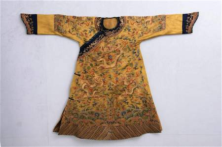 An Embroidered Imperial Robe