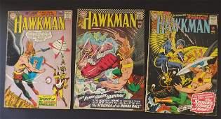3 SILVER AGE HAWKMAN COMICS