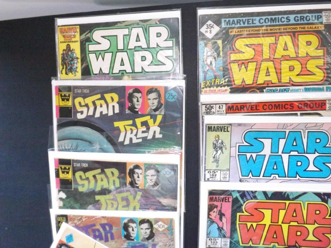 13 STAR WARS/STAR TREK COMICS - 2