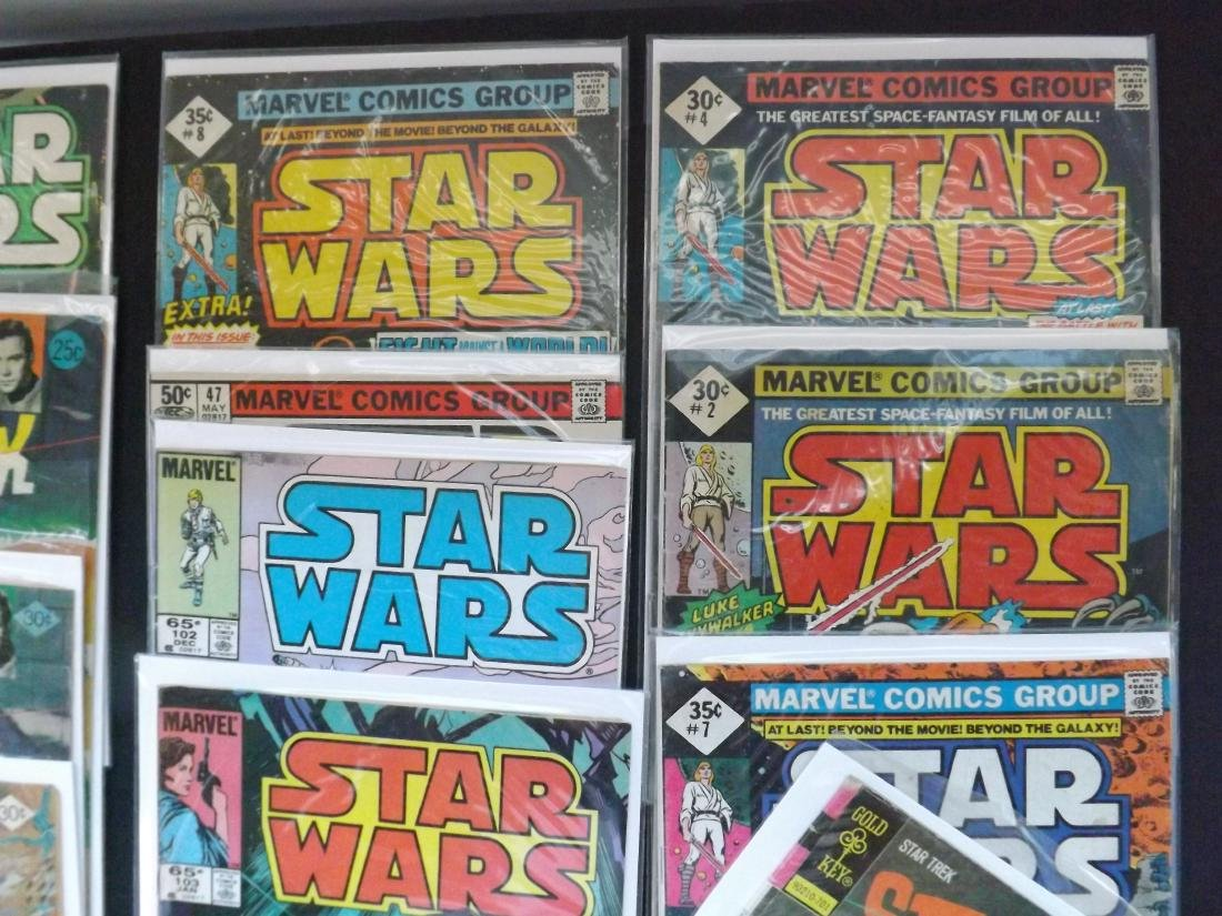 13 STAR WARS/STAR TREK COMICS - 4