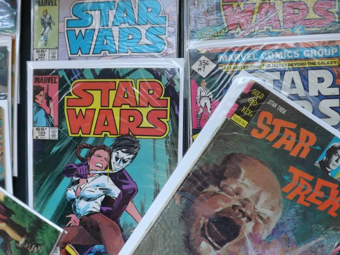 13 STAR WARS/STAR TREK COMICS - 5