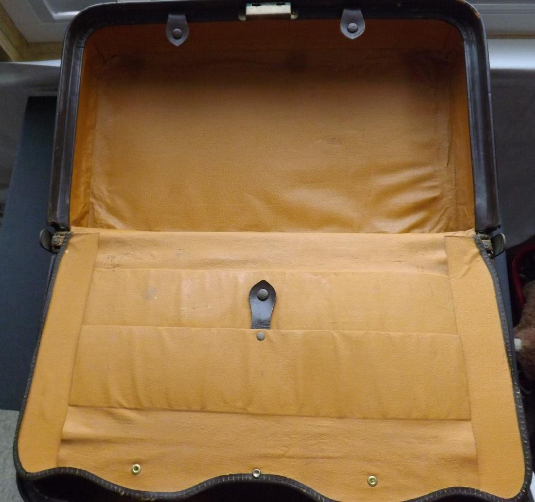 1920/30S LEATHER SUITCASE - 8