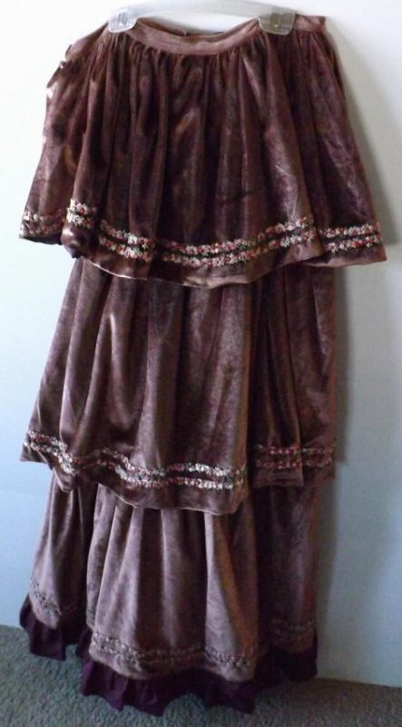 7 PIECES EARLY 1900S THEATRICAL COSTUME - 3