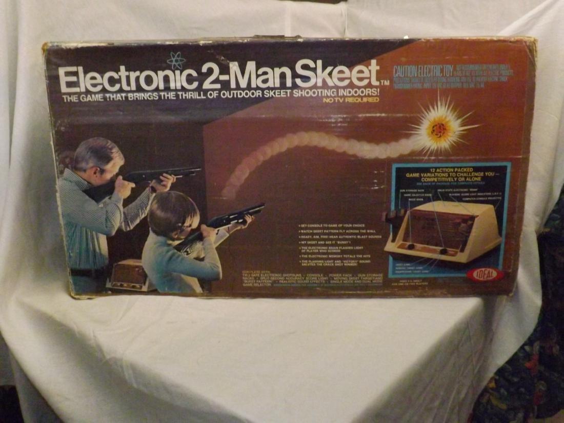 1978 IDEAL ELECTRONIC 2-MAN SKEET GAME