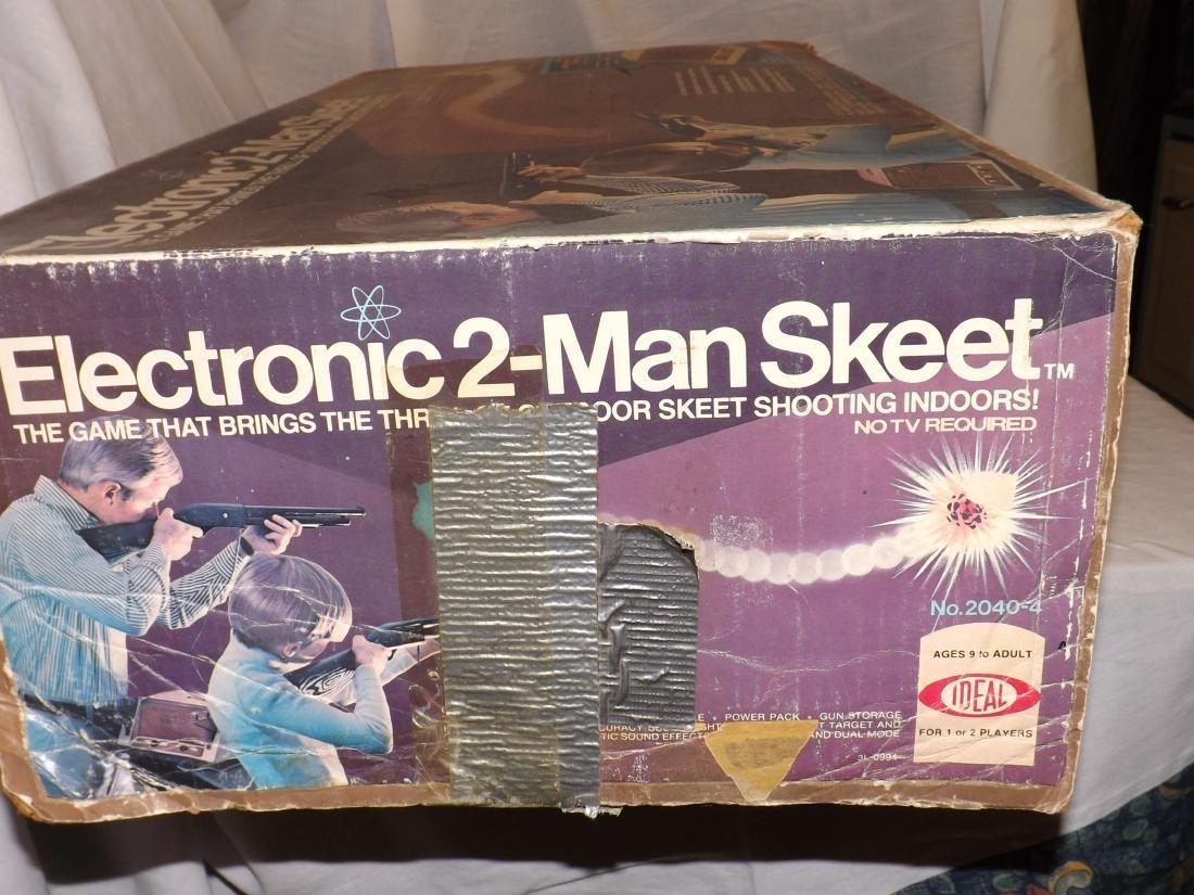 1978 IDEAL ELECTRONIC 2-MAN SKEET GAME - 3