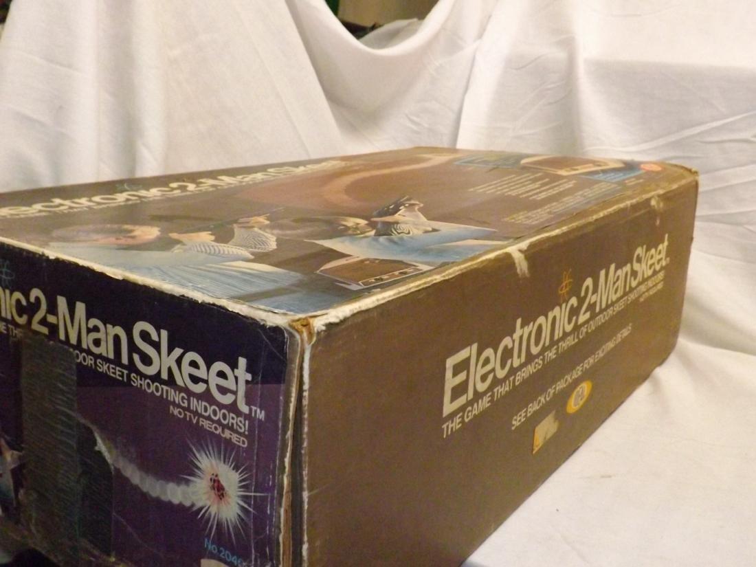 1978 IDEAL ELECTRONIC 2-MAN SKEET GAME - 4